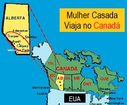 montanhas Canadá onde fica