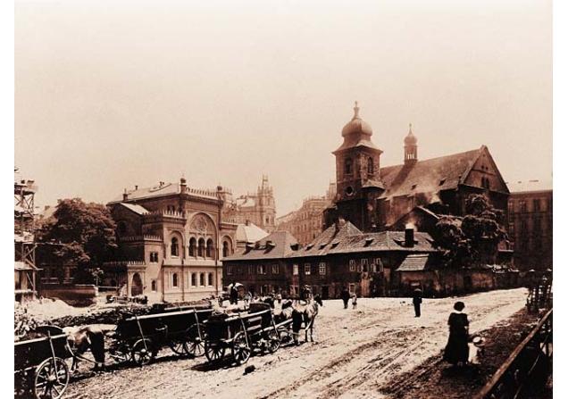 Praga Josefov gueto judeu