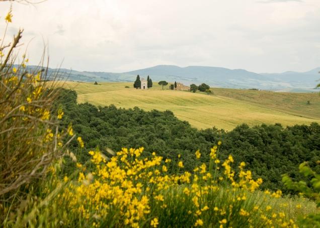 Val dorcia capela Toscana
