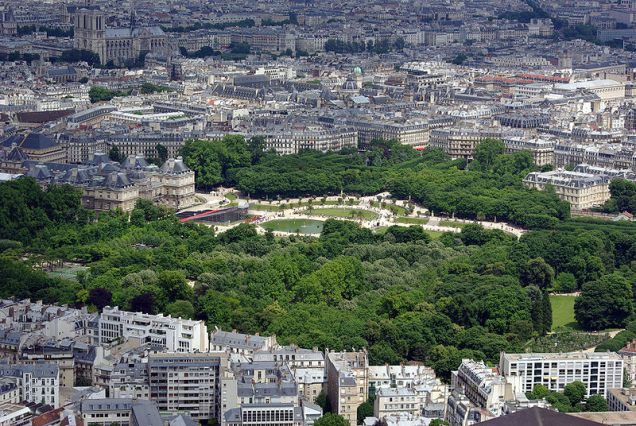 Jardins Luxemburgo paris