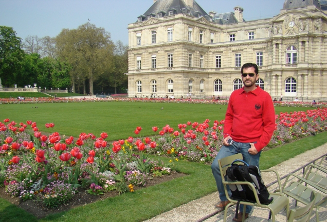 Paris Jardins Luxemburgo