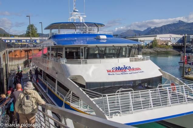 Alasca seward-cruzeiro-passeio-barco