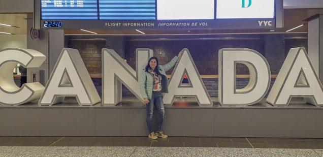 Banff aeroporto Alberta Calgary