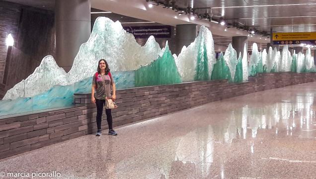 Calgary aeroporto esculturas
