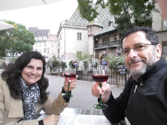 Colmar Alsacia onde comer