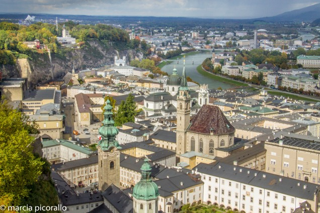salzburg fortaleza castelo