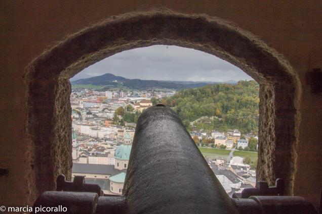 salzburg fortaleza vista