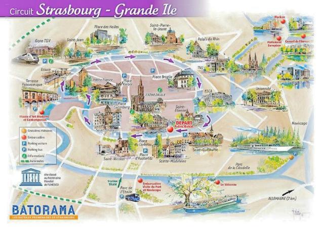 Estrasburgo-barco batorama