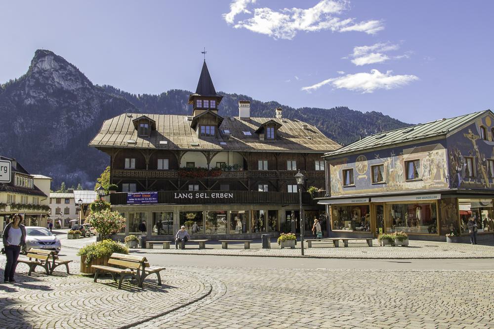 Oberammergau Alpes Alemanha