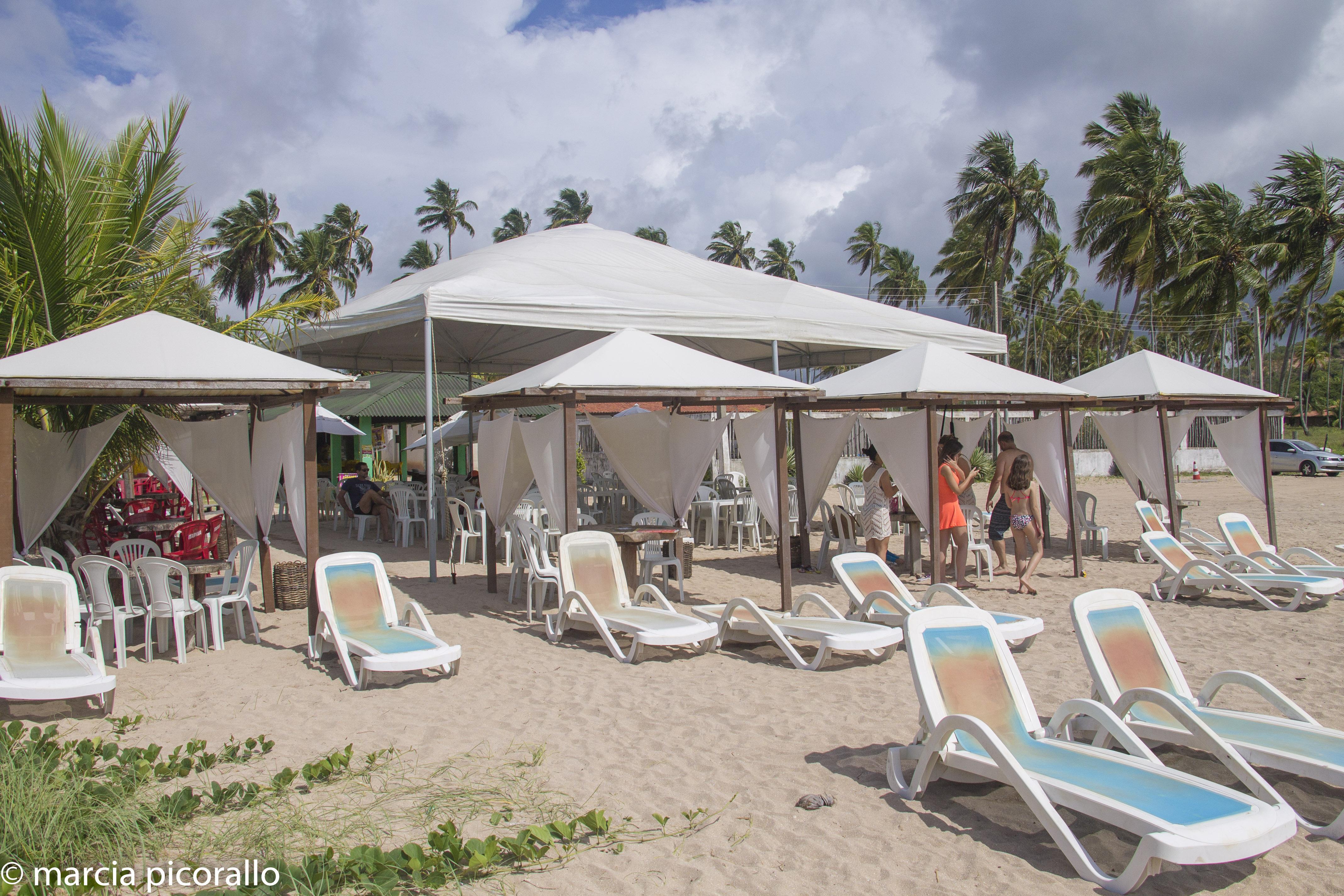 Burgalhau praia perto Maragogi