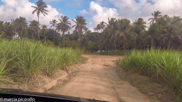 como chegar praia carro quebrado
