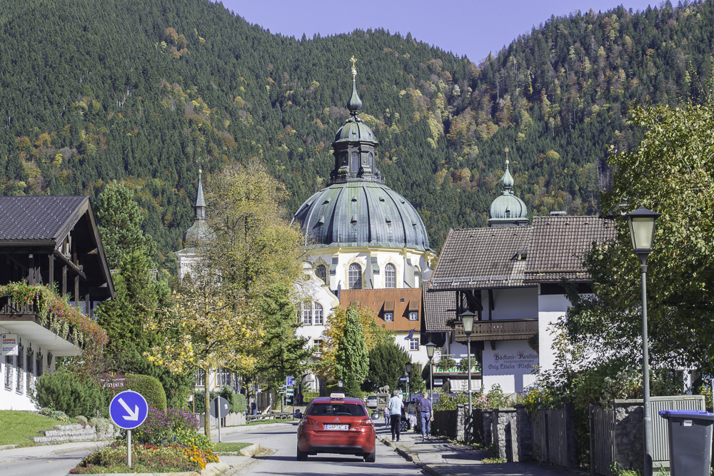 oberammergau-ettal mosteiro Alemanha