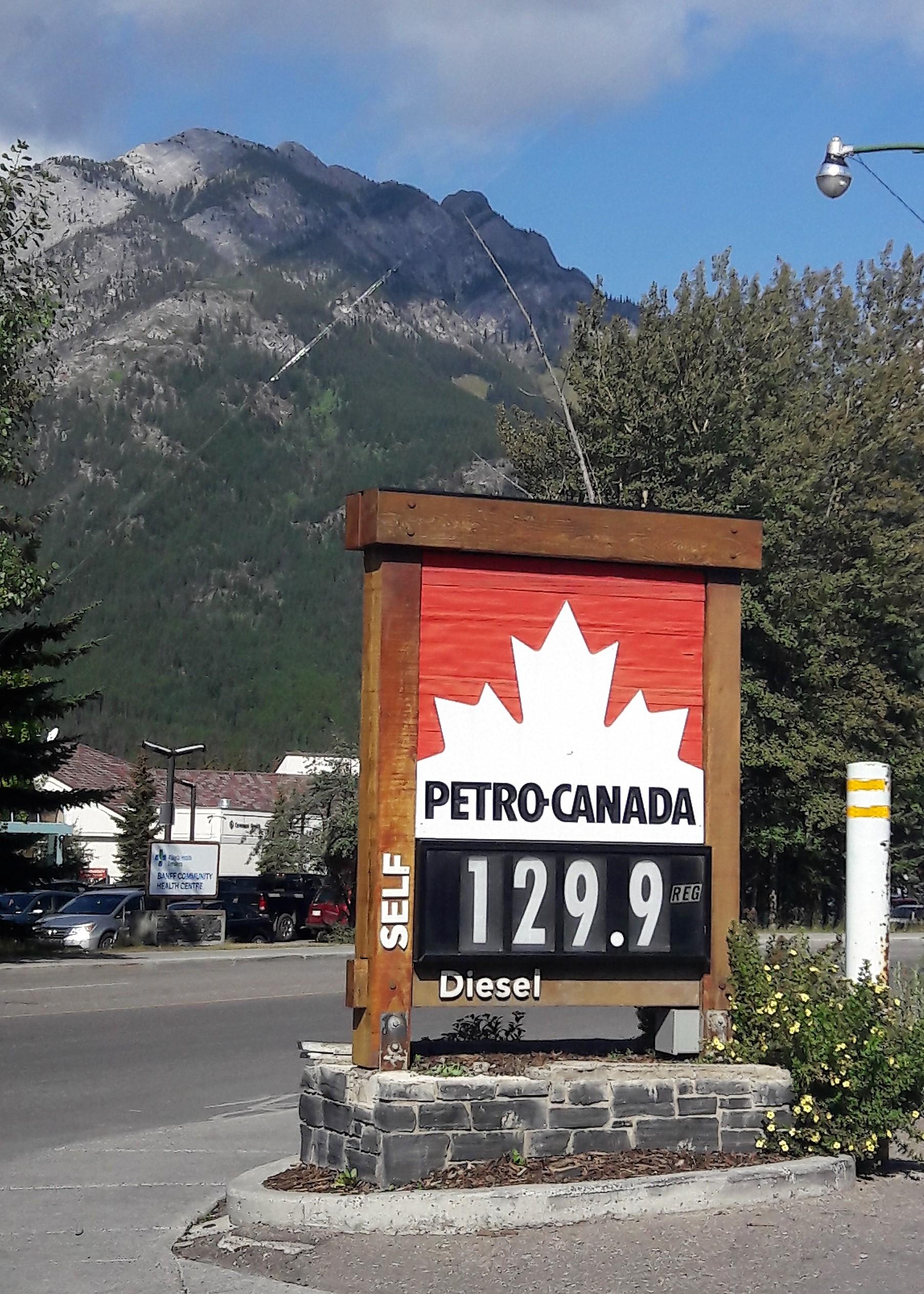 Canada combustível