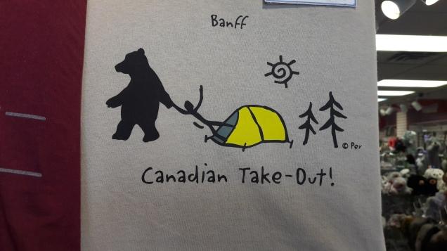 Canada banff souvenir