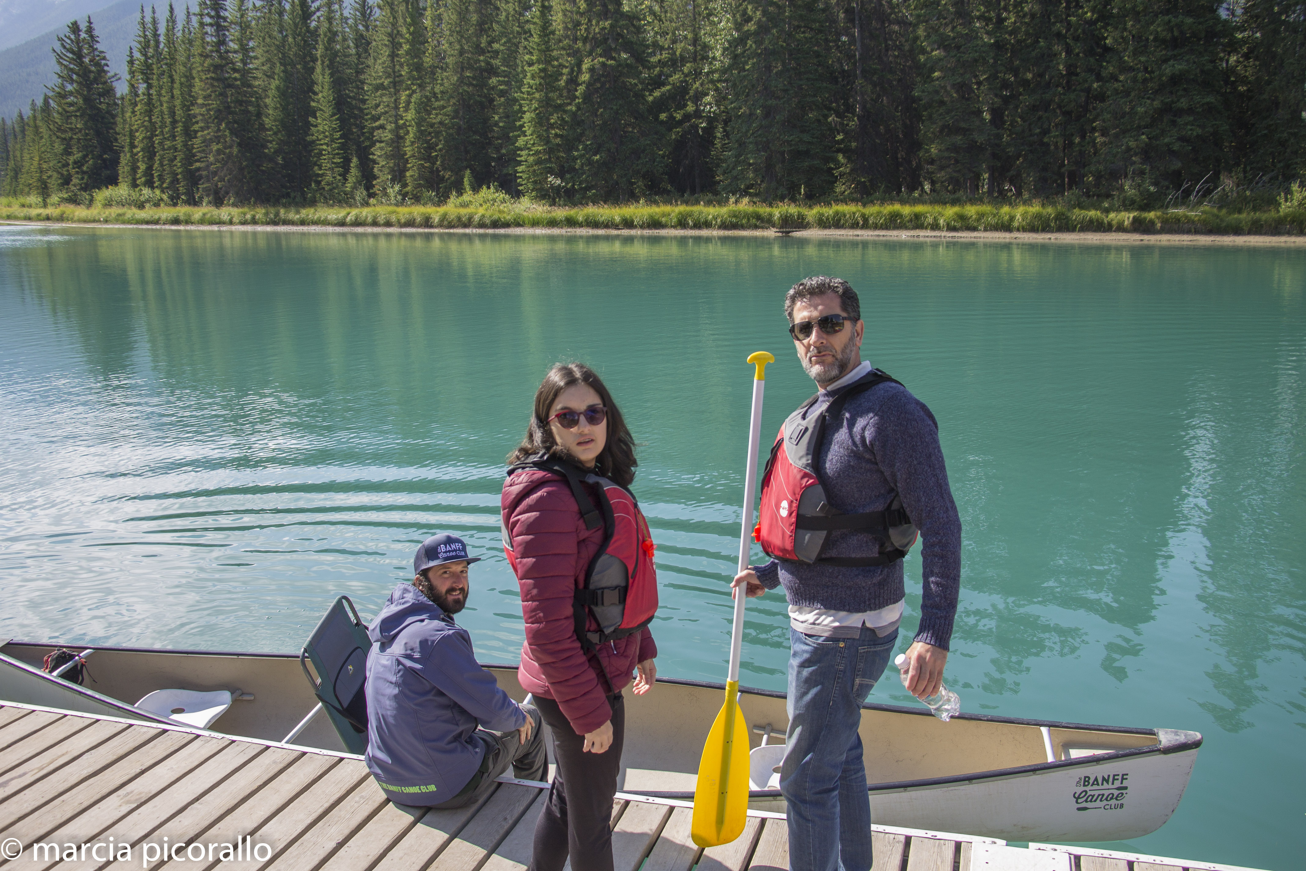 Banff aluguel canoas