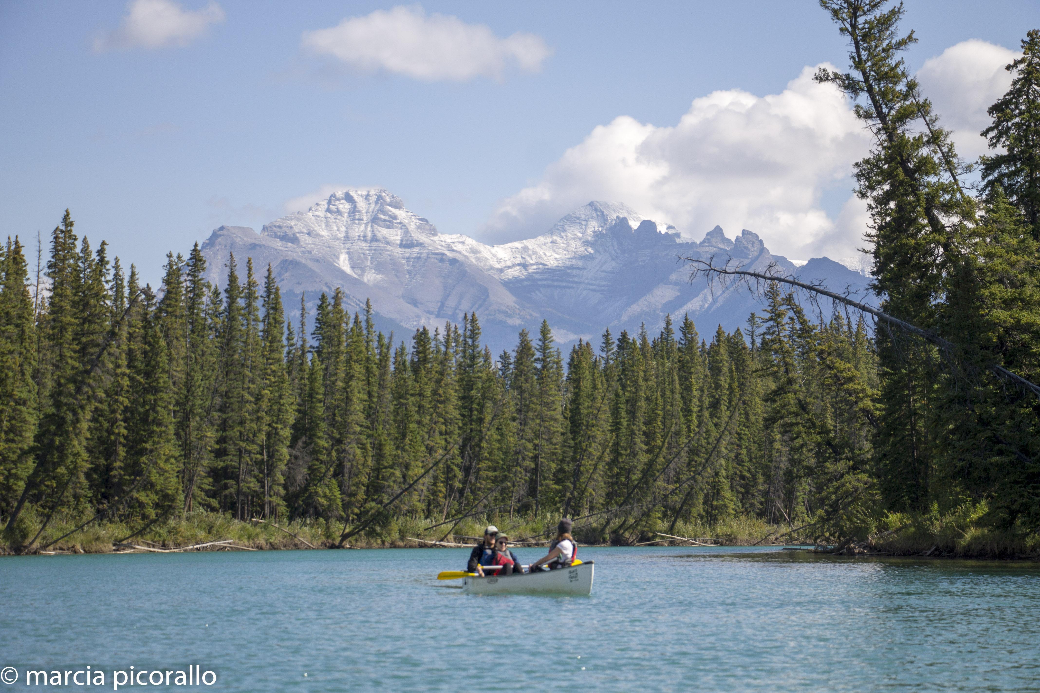 Banff que lago remar