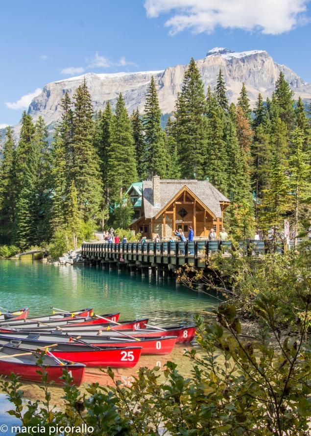 o que fazer no Emerald Lake