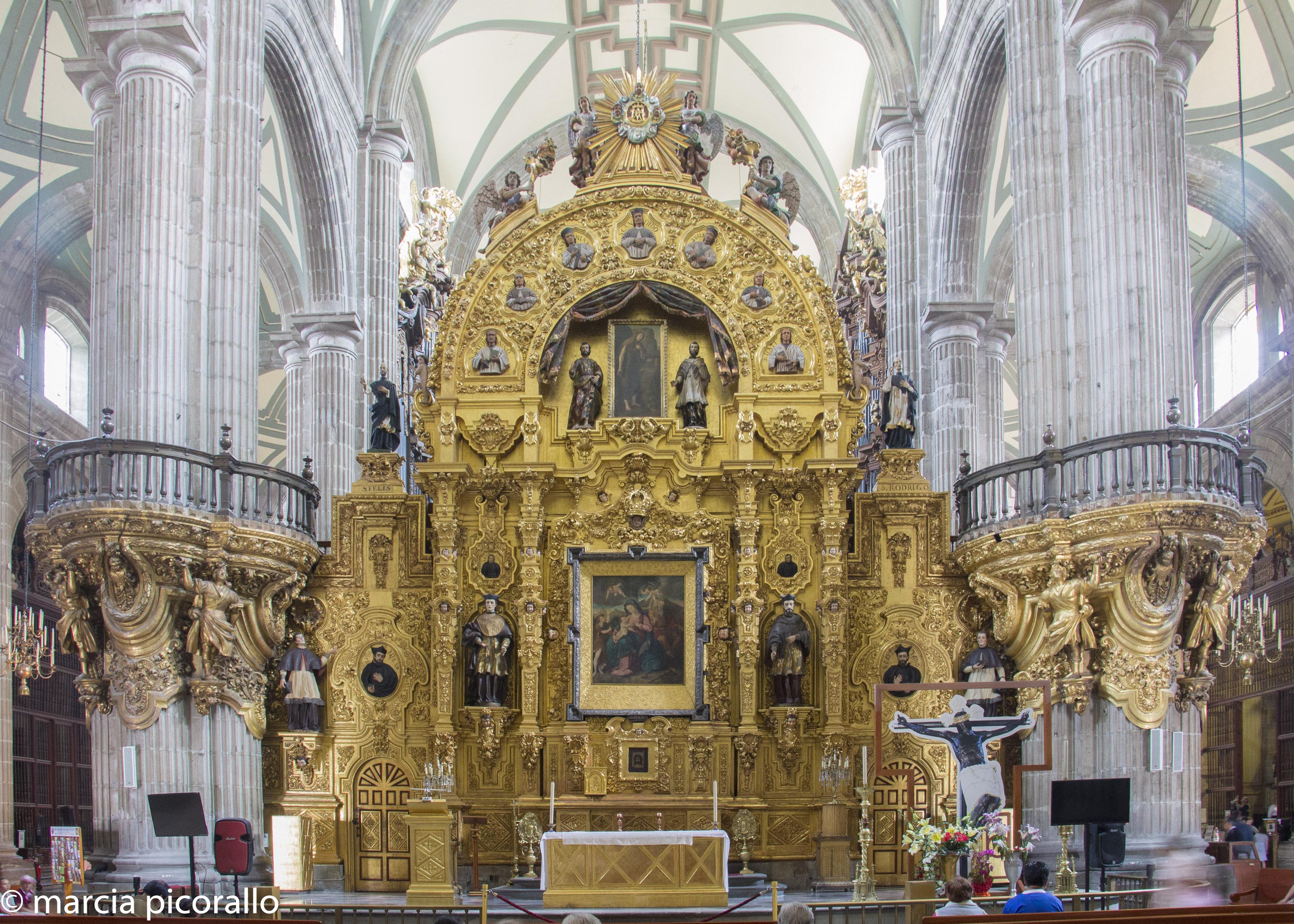 cidade mexico catedral