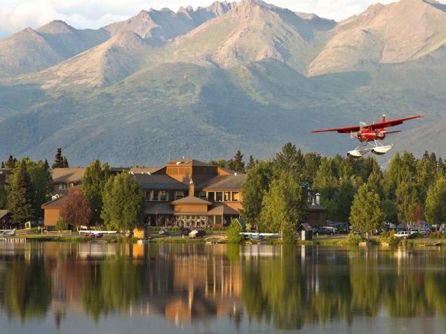 Anchorage hotel perto aeroporto